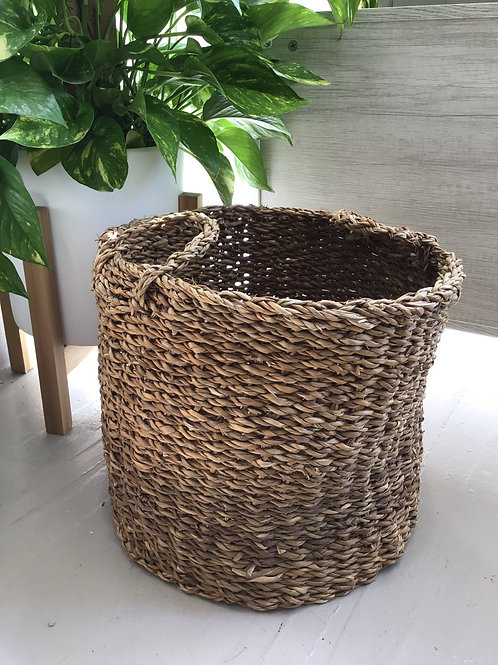 Large Rattan Basket (Plant Sold Separately)