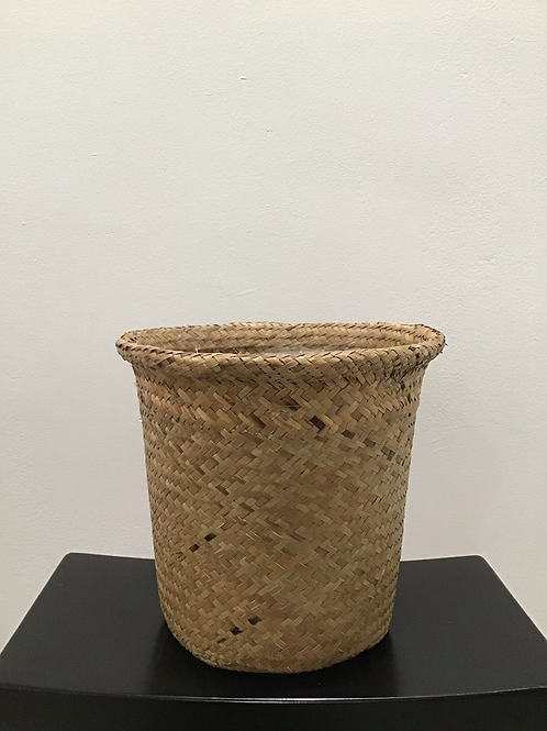 Straw Basket 8""