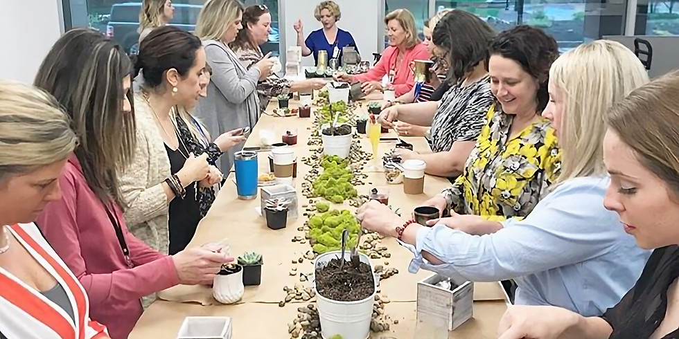 PRIVATE EVENT: St. Anselm Succulent Planting Party