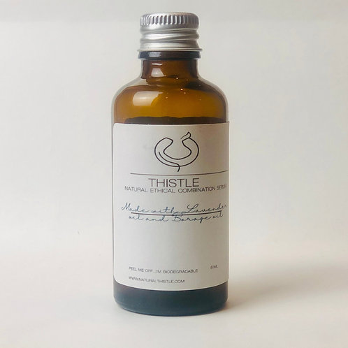 Natural Face Serum for Combination Skin