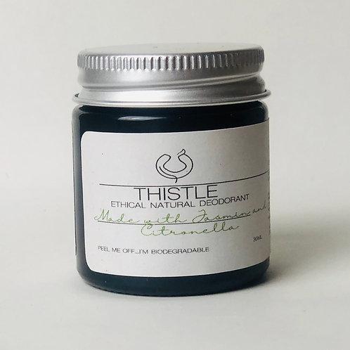 Citronella and Jasmine Ethical Natural Deodorant Balm