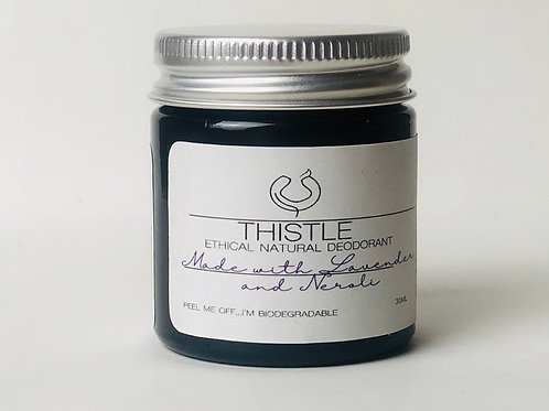 Lavender and Neroli Ethical Natural Deodorant Balm