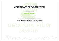 GA Covid Certificate