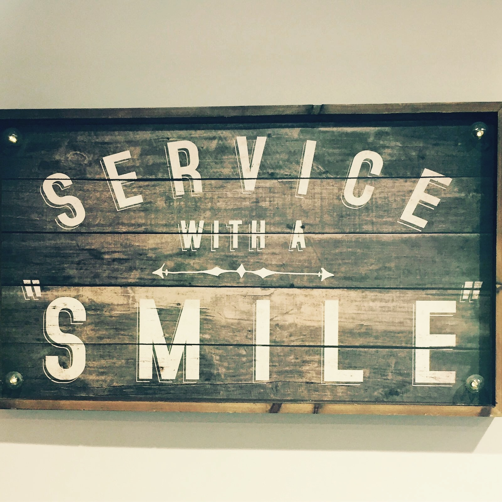 service with a smile copy