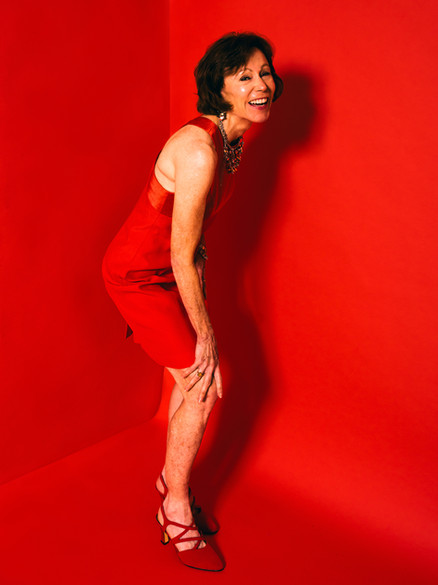 RUTH ON RED
