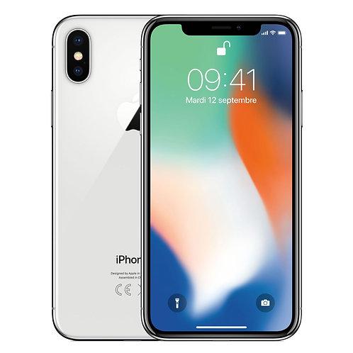 iPhone X - 256 Go - Argent