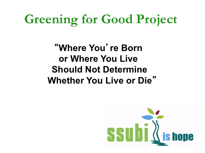 Greening for good Project