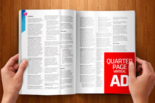 "Quarter Page 4.25"" x 5.5"""