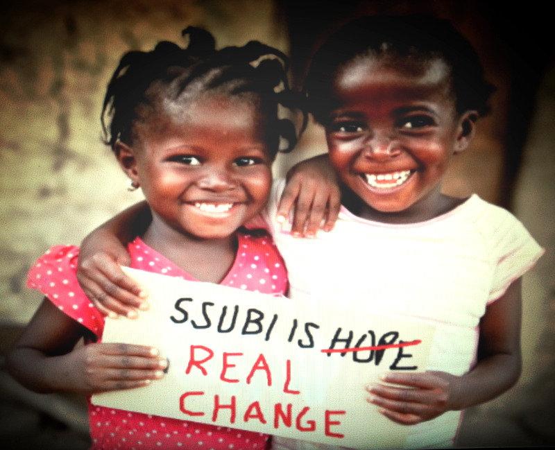 Ugandan baby ssubi