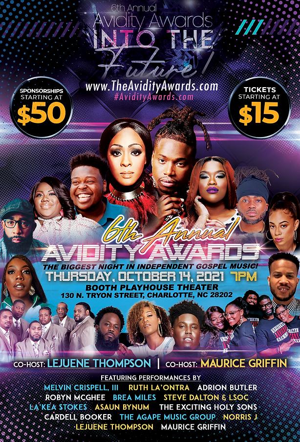 6th Annual Avidity Awards Flyer
