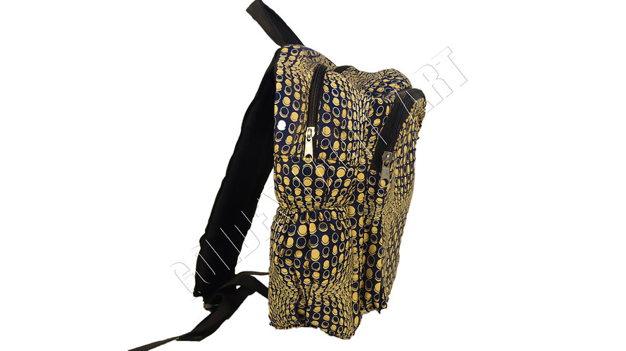 Small kitenge bag pack