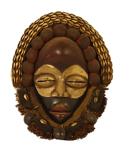African traditional dan mask