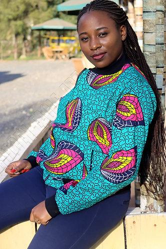 African kitenge jacket