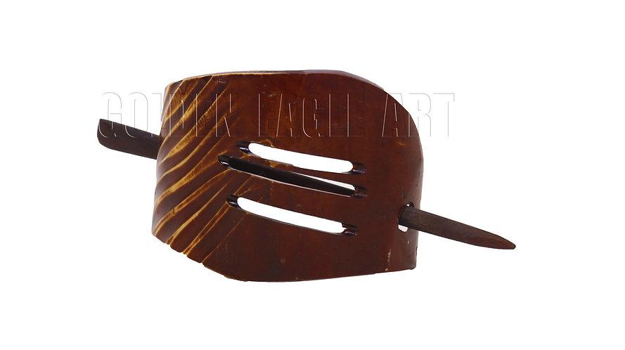 Horn hair clip
