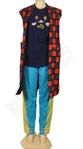African kimono dress
