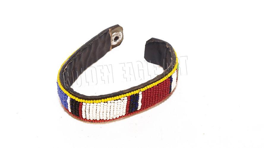 Maasai clip bracelet