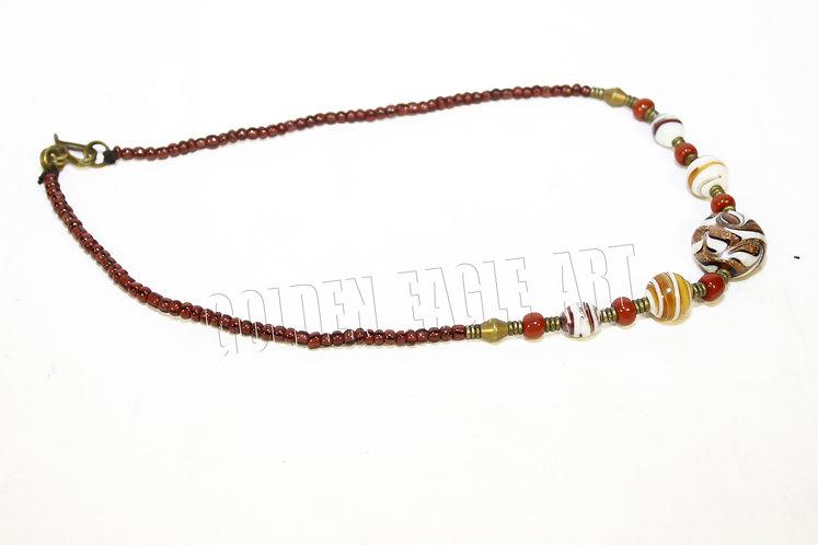 Ceramic bead necklaces