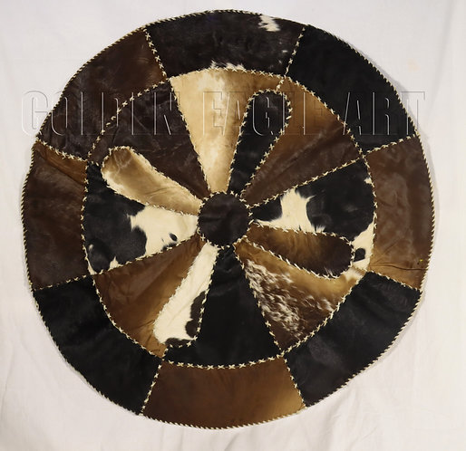 Round Leather Table Cloth
