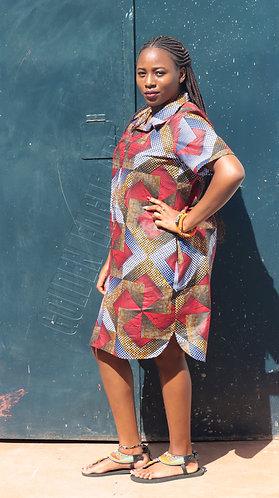 Kitenge top dress