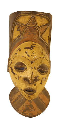 African traditional antique mask
