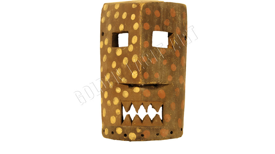 Traditional antique mask