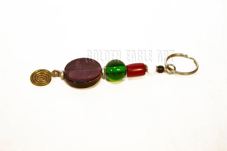 Glass bead ambor key orders