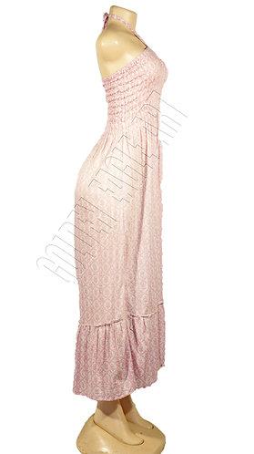 Soft cotton off shoulder sun dress