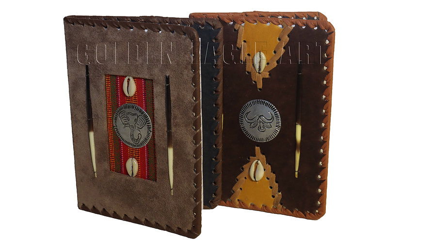 Small leather notebook covers