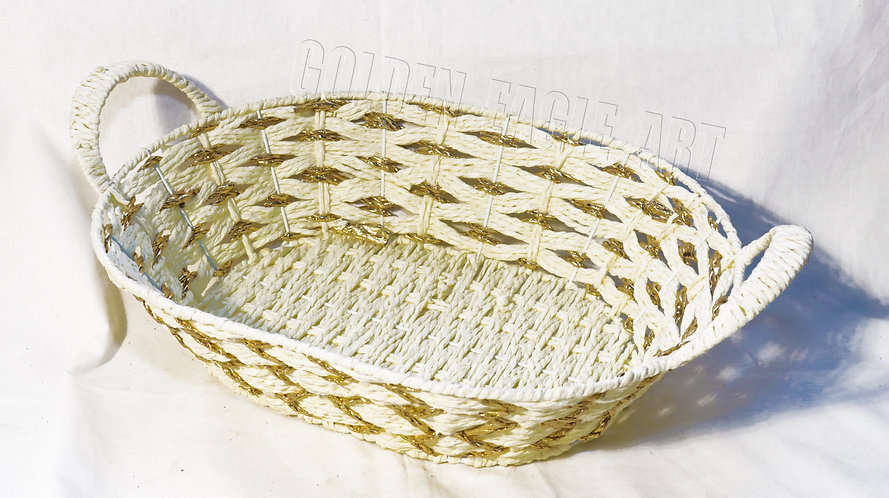 Cotton woven fruit baskets