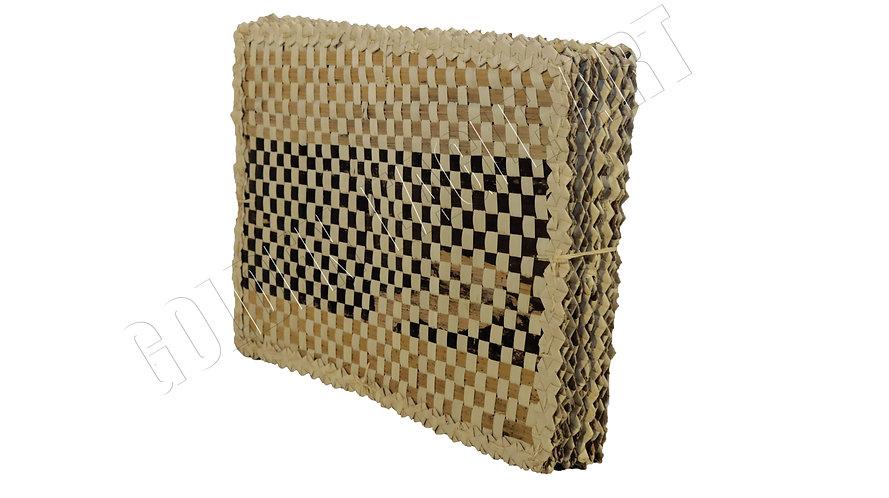 Banana woven place mats( set of 6)