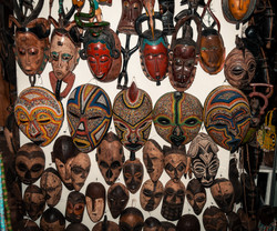 Traditional African Antique mask