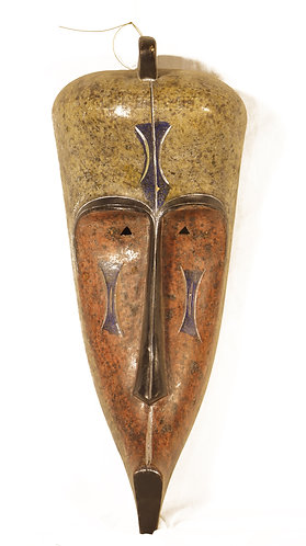 African traditional cultural mask