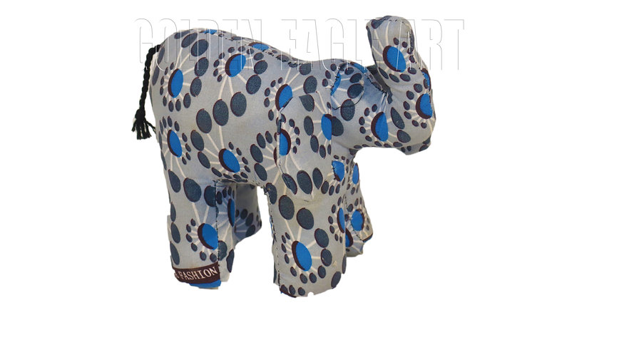 Medium fabric elephant