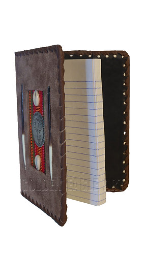 Medium leather notebook covers