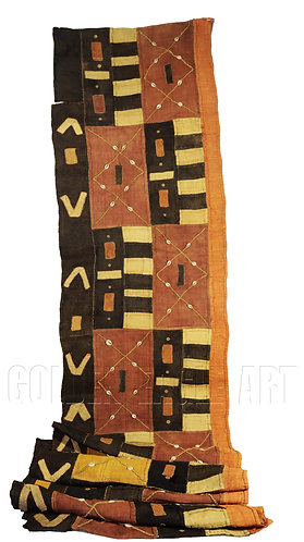 Bakuba cloth rug