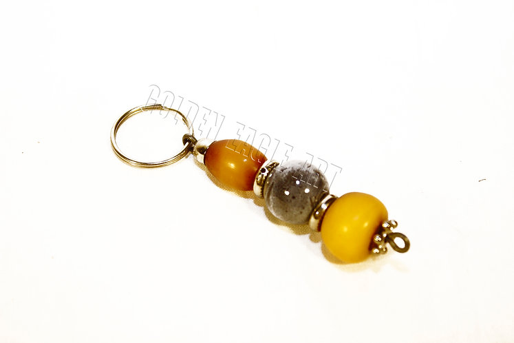 Glass bead ambor key orders