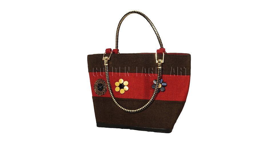 Ladies crafted shopping bag