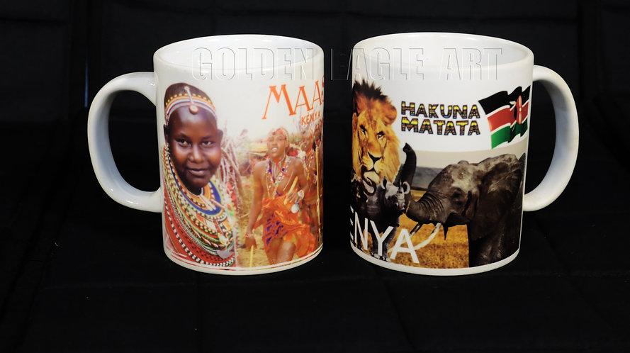 Printed tea mugs