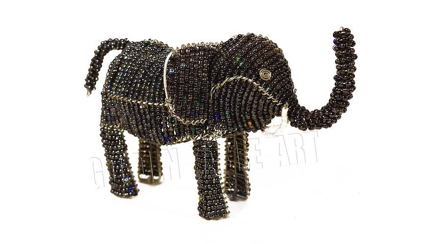 Beaded medium elephant