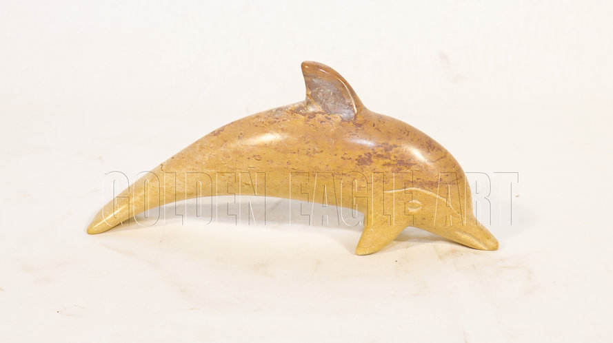 Small soapstone dolphin fish