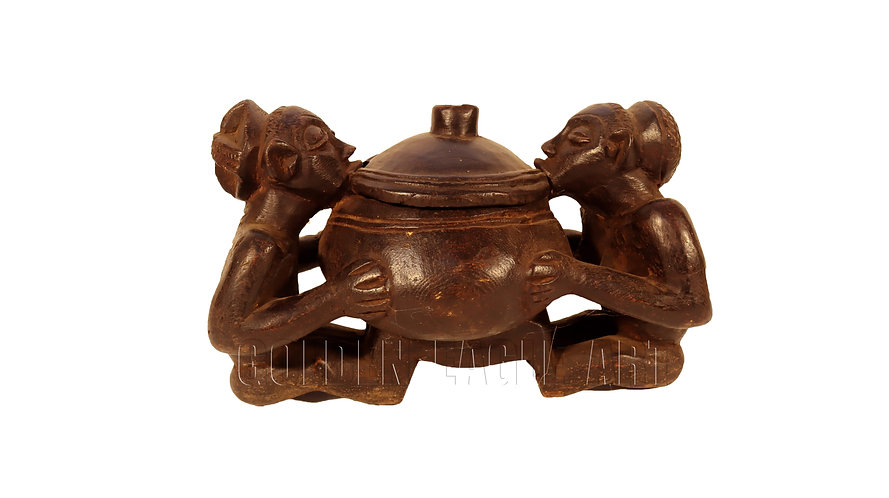 Traditional medicine mixer bowl