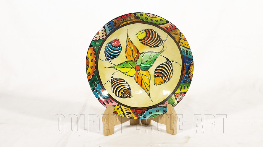 African heritage colored bowl