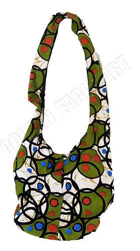 Flexible kitenge bag