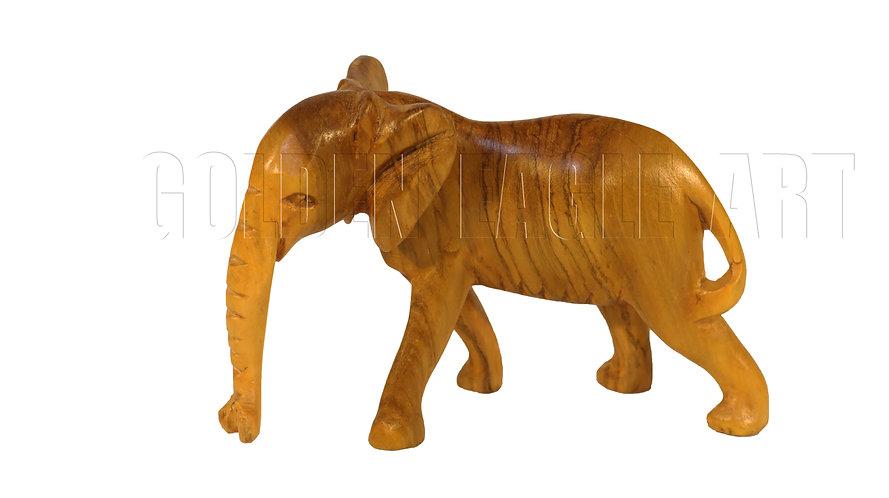 Olive medium elephant
