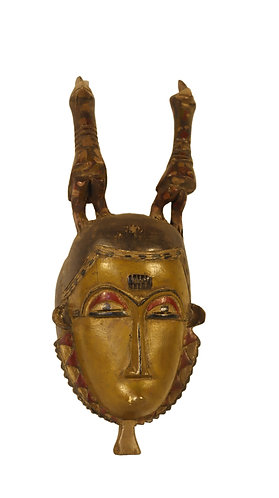 African mbaule mask (good luck)