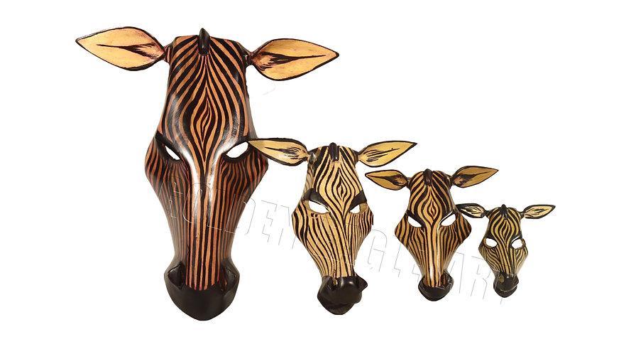 African tik zebra wall plate