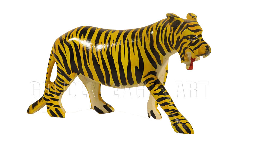 Softwood colored tiger
