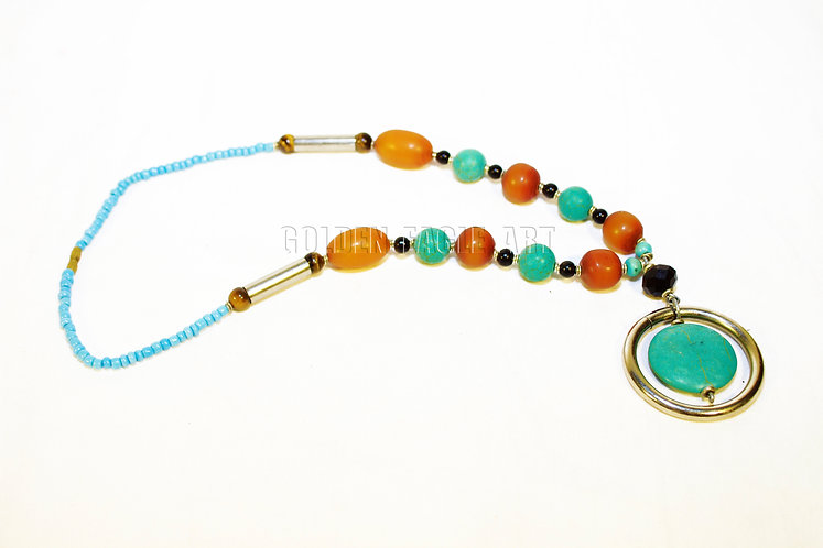 Amber Takwise Necklace