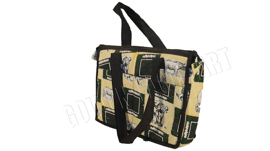 African print cotton bag