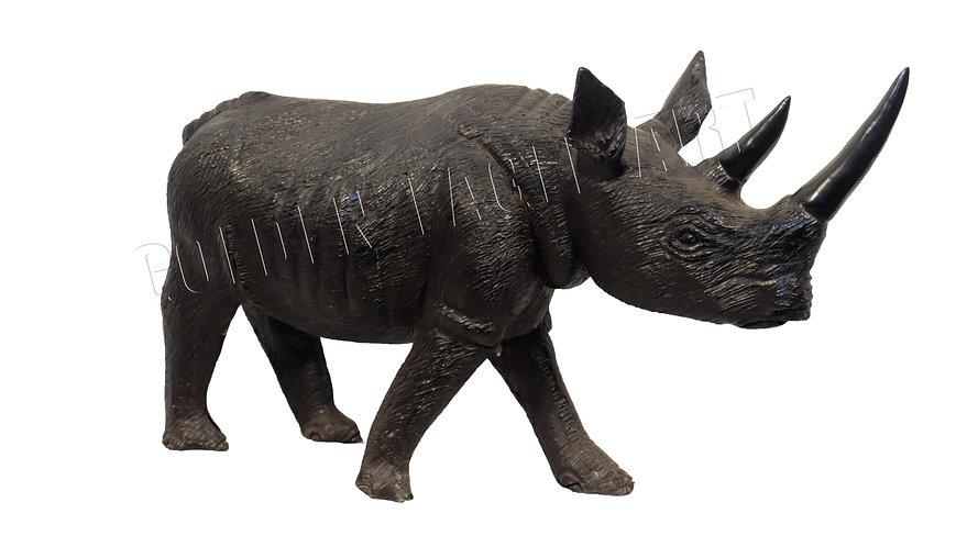 Ebony textured rhino